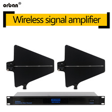 BS-870 Professional Wireless Microphone Signal Amplifier One Tow Four Enhancement