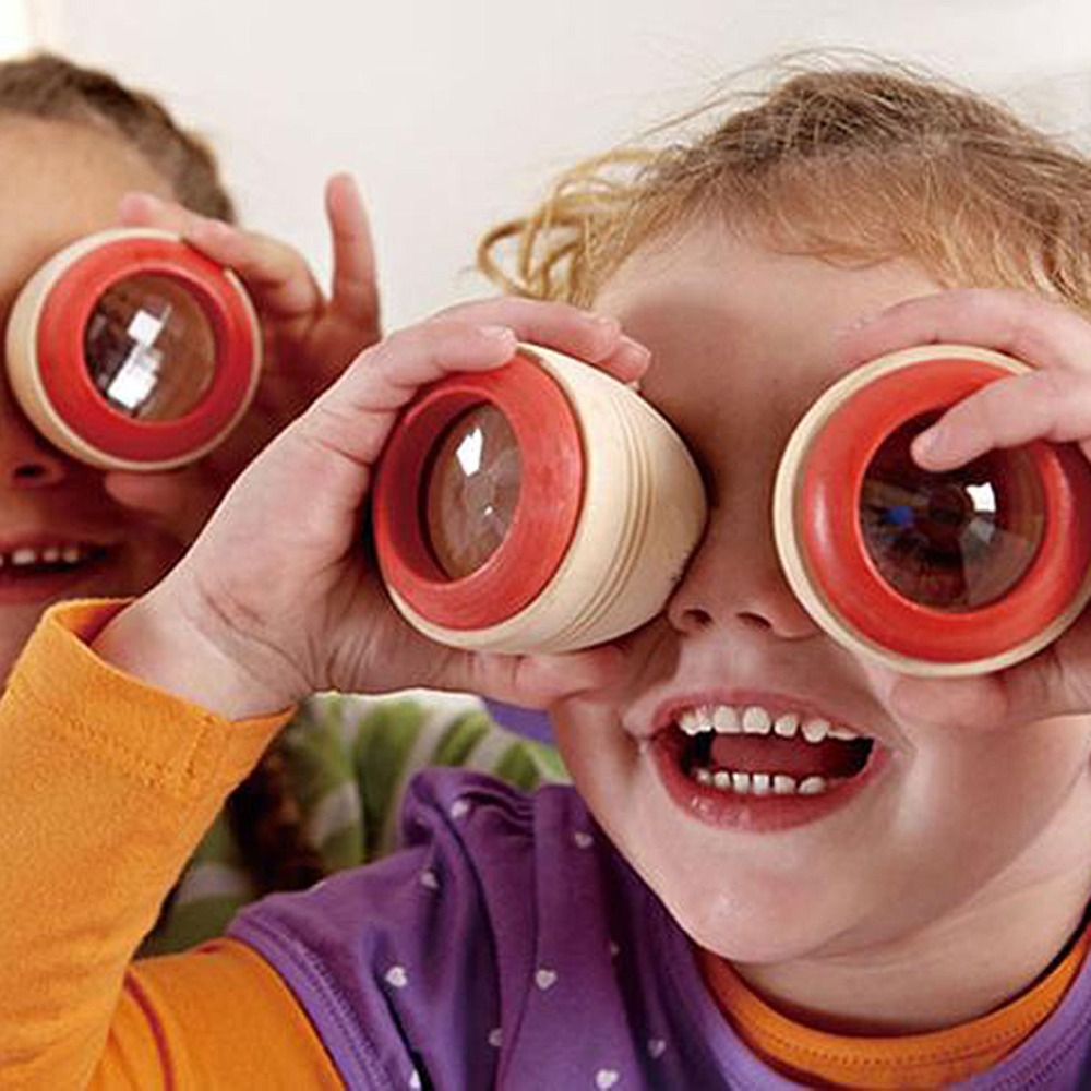 Gags Practical Jokes Gift Prism Montessori Educational Puzzle kids Kaleidoscope Wooden Magic Fun Toys Children Preschool babys in Gags Practical Jokes from Toys Hobbies