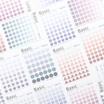 Domikee lindo clásico washi papel decorativo adhesivo cintas para planificador diario acuarela DIY diario decorativo planificador pegatinas