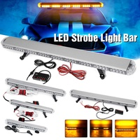 22 to 45.6 Car Led Strobe Flash Warning Light Bar Roof Beacon Flashing Emergency Trucks Beacons Trailer Engineering Vehicle