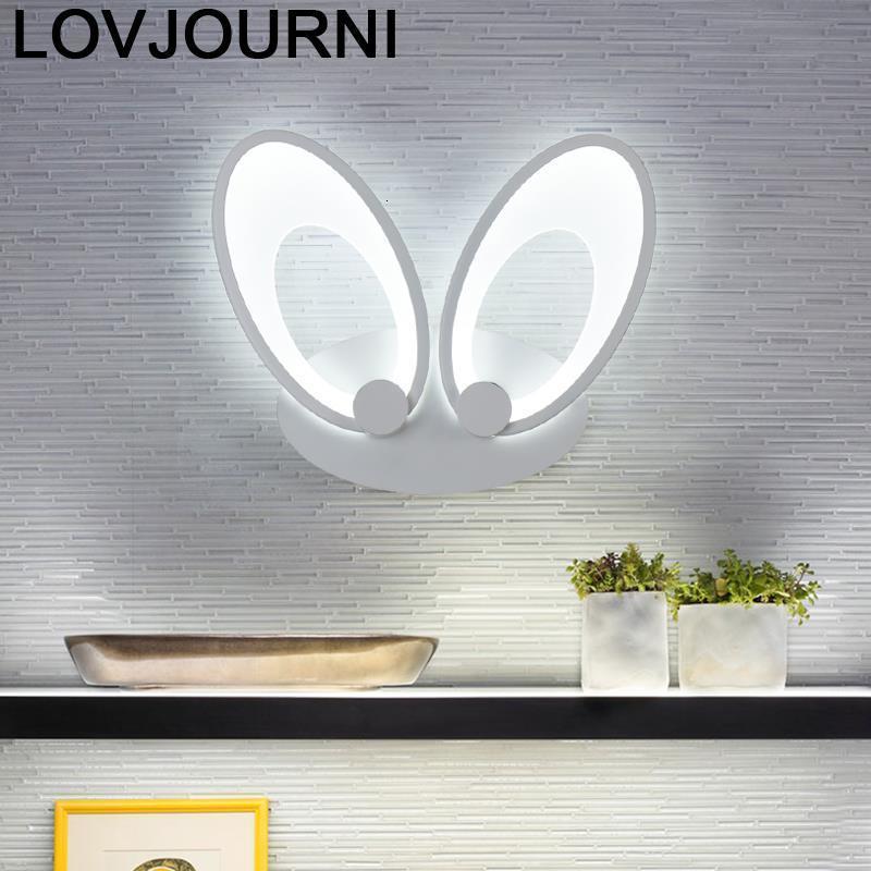 Avec ミロワールランパラ手帖コルガンテ Moderna Luminaria デ Parede Led Wandlamp 寝室照明器具 Aplique ルスパレー壁ライト - sparking Store