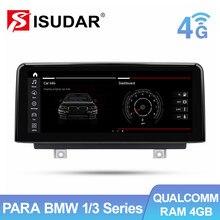 Isudar 1 Din Android 10 Radio Coche Para BMW F30 F20 F31 F34 F21 F32 F33 F36 NBT Navegador Multimedia Automóvil Pantalla Altavoces Manos Libres Bluetooth Sensor Aparcamiento Los Mandos Del Volante 4G Idrive Carplay IPS