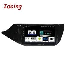 Автомобильный мультимедийный плеер Idoing, 9 дюймов, Android 9,0, радио, для KIA Cee, CEED JD 2012 2016, PX5, 4 Гб + 64 ГБ, 8 ядер, GPS навигация, 2.5D, TDA 7850