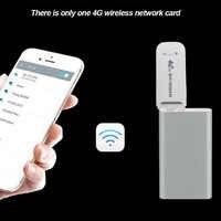 Modem 4G LTE 150 mb/s Modem USB Adapter bezprzewodowa karta sieciowa USB uniwersalna biała WiFi