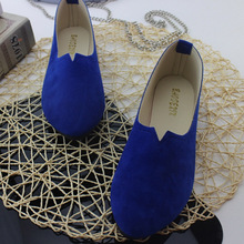 2019 Summer Hot Sale Work Women Shallow Mouth Flats Single Shoes Candy Color Nub
