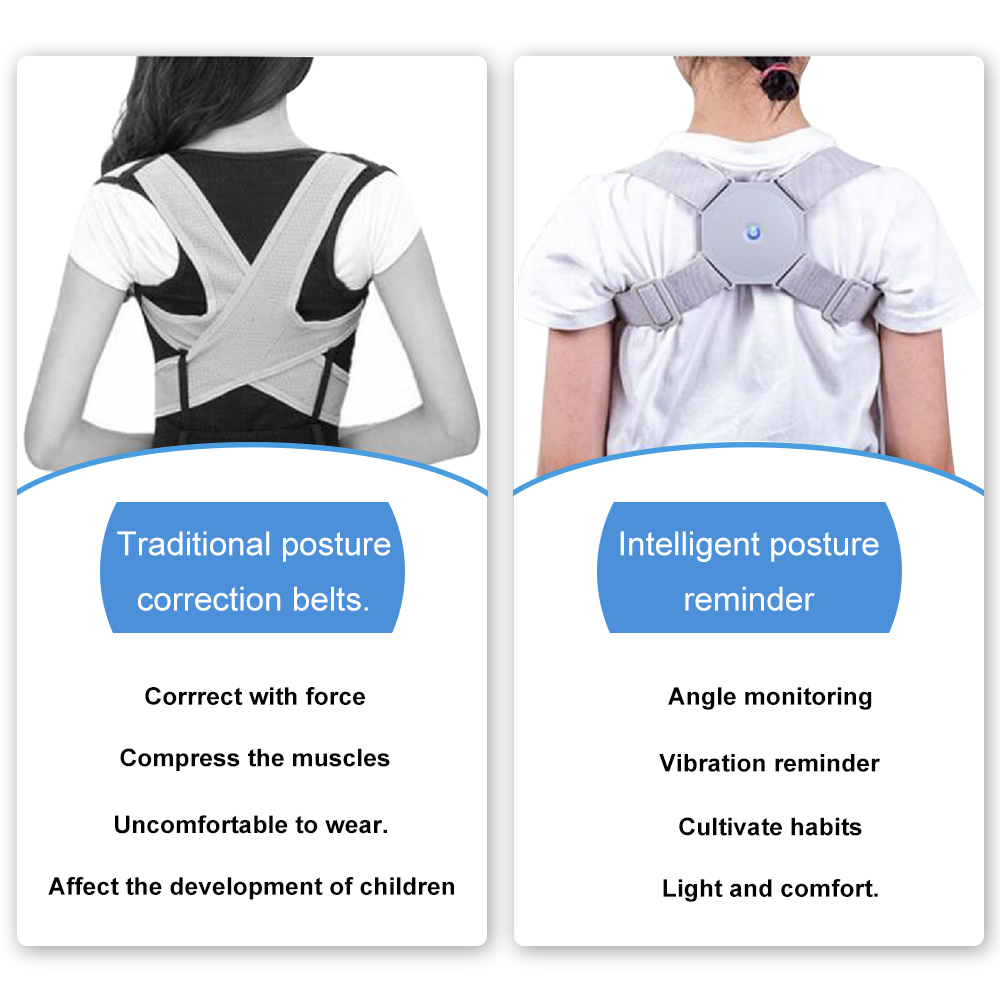 Breathable Posture Corrector Belt to Get Confident Posture Easily Helps to Align Shoulder Spine and Upper Back for Men and Women 5