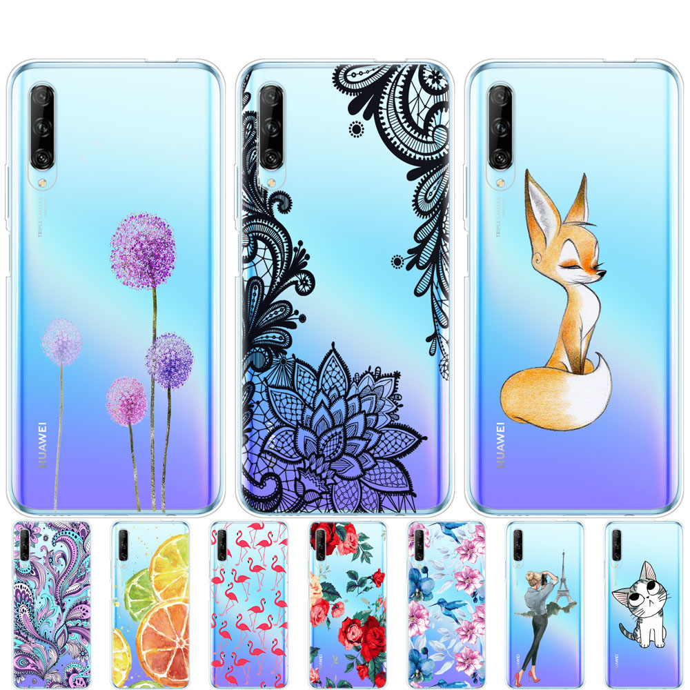 For Huawei Y9s Phone Case On Huawei Y9 S Back Cover Bumper Etui Coque Silicone Tpu Soft Full Protection Shockproof
