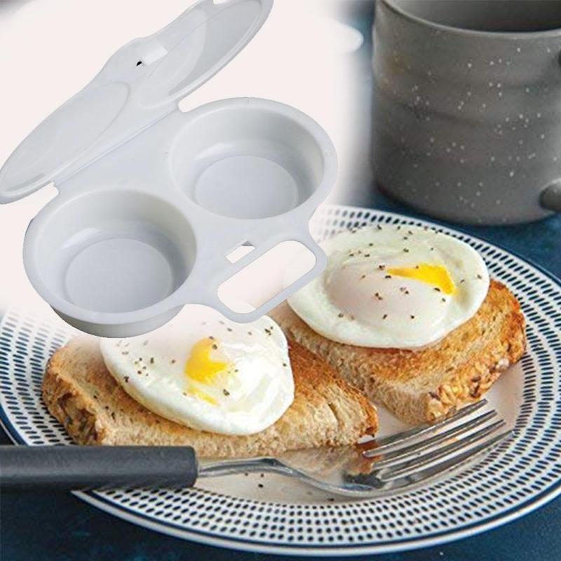 Кухонная микроволновая печь, круглая форма, отпариватель для яиц, форма для приготовления яиц, яйцеварка, кухонные гаджеты, инструмент для ж...
