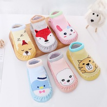 Baby Socks Children's Non-Slip Kids Cotton Cartoon Fashion Cute Casual