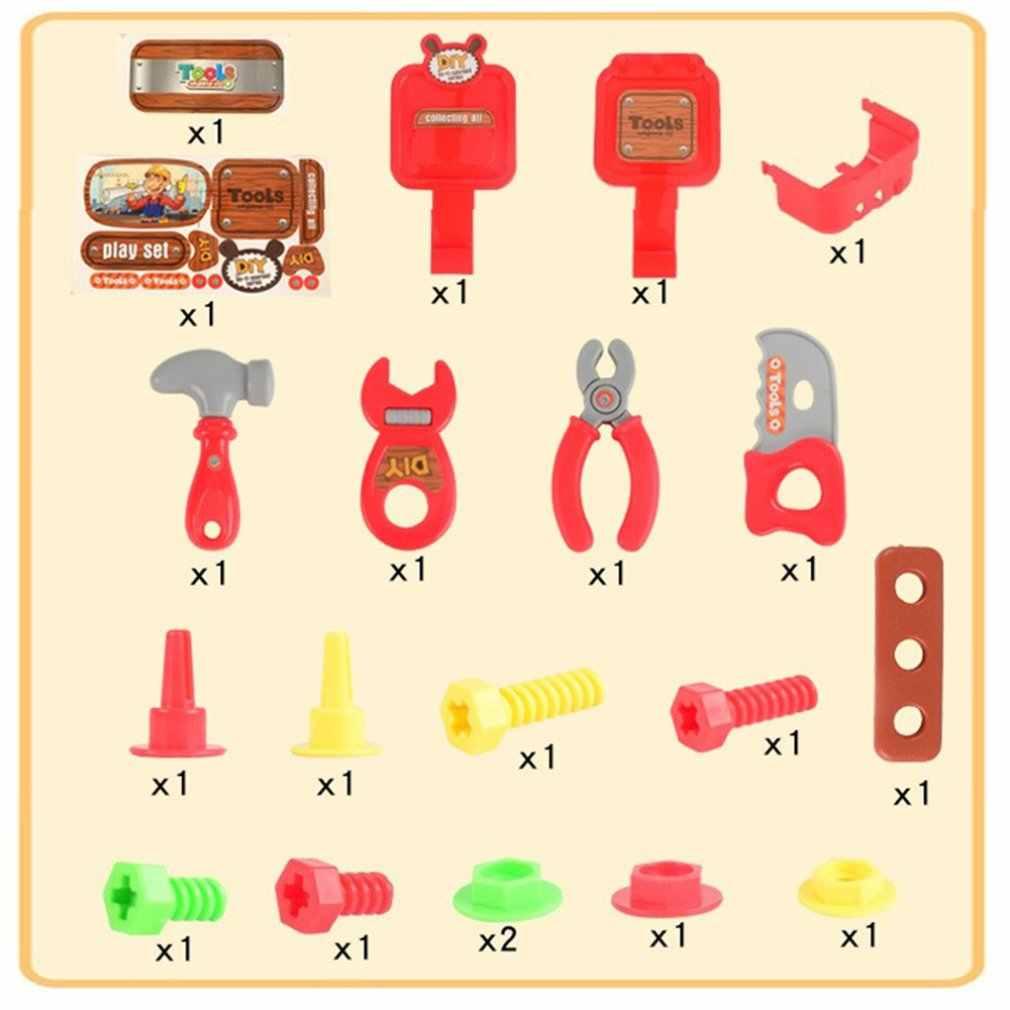 Children'S Toolbox Through Home Toys 22 Sets Of Portable Maintenance Toolbox Toy Set Kindergarten Pvc