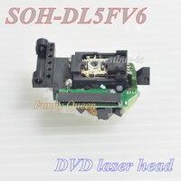 Cabezal láser DVD 23pin lente SOH DL5FV6/DL5FV6/SOH-DL5FV6 lente láser