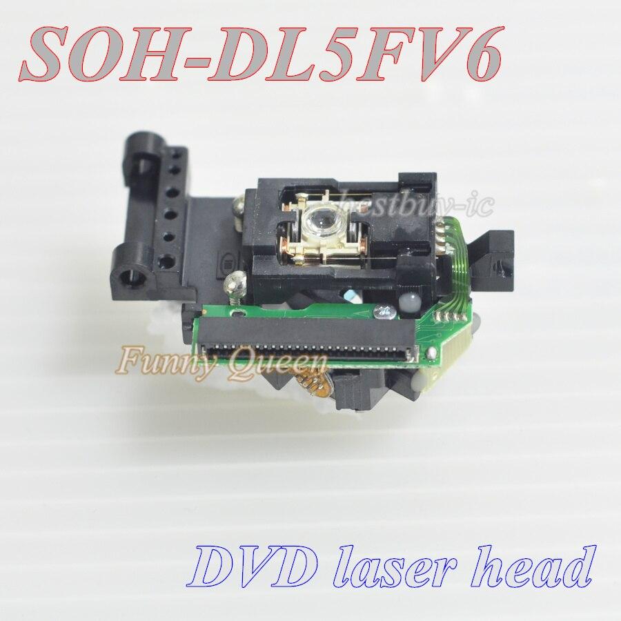 DVD Laser Head 23pin Lens SOH DL5FV6 / DL5FV6 / SOH-DL5FV6 Laser  Lens