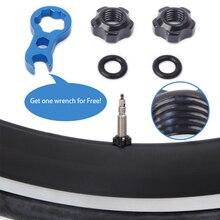 Road Mountain Bike Bicycle Gas Air Nozzle Tire Presta Valve Core Nut Scr SR
