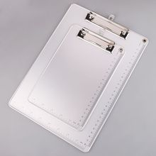File Clip-Board Paper-Holder Stationery-Supplies Office Aluminum-Alloy Writing Portable
