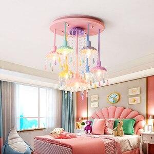 Hanging Light Crystal Kids Cha