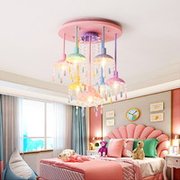 Hanging Light Crystal Kids Chandelier Lighting For Bedroom Chandelier Lights Indoor Lighting Led Light Bedroom Bed Room Lamp
