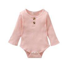 Комбинезоны для младенцев с длинным рукавом и принтом