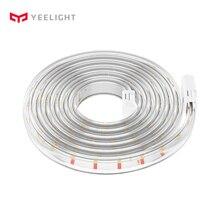 Yeelight LED 5 متر الذكية ضوء الشريط قابلة للتمديد ضوء الفرقة للمنزل Yeelight App واي فاي التحكم عن بعد الأبيض Warm الإصدار