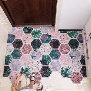 Anti-slip PVC Silk Loop Door Mat Door Mat Entrance Rubbing Dust Carpet Kitchen Mat Custom Irregular Shape Rug Nordic Minimalist