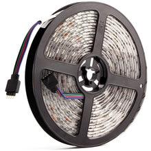 5050 24 12v ledストリップライト防水rgb rgbw rgbww led照明ストリップ5メートル60leds/メートル柔軟なledランプストリップテレビバックライト24v