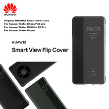Original Huawei Smart View Cover Phone Protection Cover For Mate 30/30 Pro/Mate 40/40 Pro/For Mate 40 Pro+ Flip case Auto Sleep