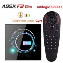 A95X F3 Slim TV Box Android 9.0 Amlogic S905X3 4GB 64GB Wifi