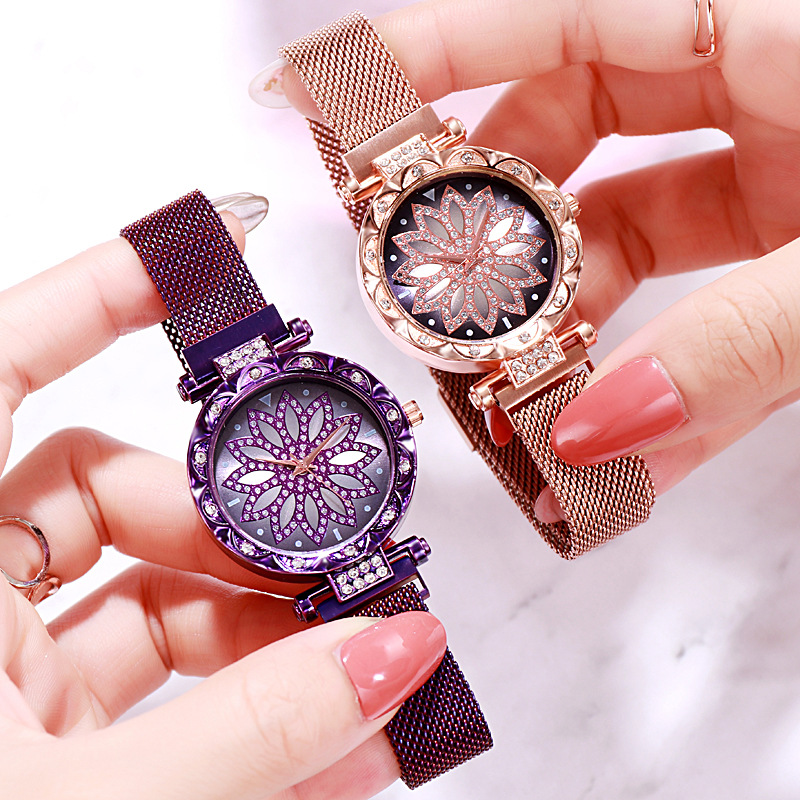 2019 Montre Femme Fashion Ladies Magnet Steel Belt Women Watches Casual Female Quartz Watch часы женские Relogio Feminino