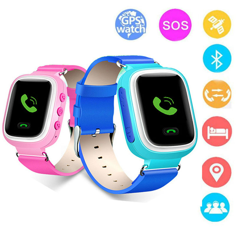 2019 New Fashion Children's Smart Watch LBS History Tracking Positioning SOS Help Mobile Phone Safety Distance Setting For Kids
