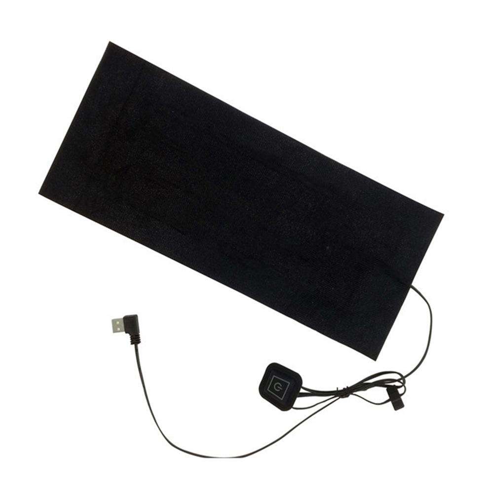 Outdoor Sports Thermal Electric Heating Pad USB Clothes Waterproof For Winter Warm Accessories