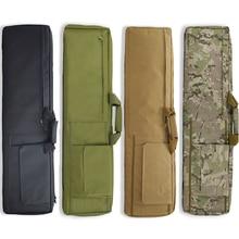 ยุทธวิธีกระเป๋าทหารAirsoft Rifleกรณีกีฬากลางแจ้งปืนพกพาไหล่กระเป๋าถุงล่าสัตว์Army Sniperปืนป้องกันกรณี
