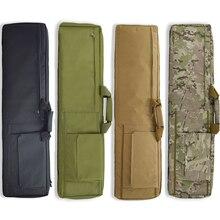 Borsa per pistola tattica custodia per fucile softair militare pistola per Sport allaria aperta borsa per spalla borsa da caccia custodia protettiva per pistola da cecchino dellesercito