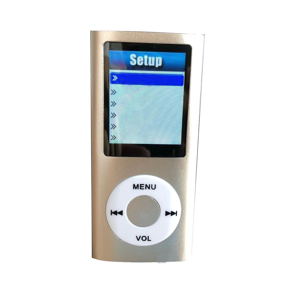 1.8 Inch MP4 player Music Player with FM Radio Video Player E-book built-in Memory Player MP4 image