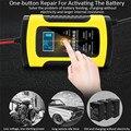 Автомобильное зарядное устройство  автоматическое зарядное устройство с ЖК-дисплеем  быстрая зарядка  110-220 В  12 В  6 А  вилка стандарта ЕС/США/...