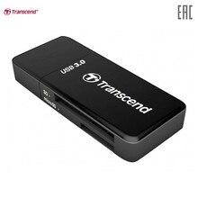 Кард-ридер Trascend USB 3.0 SD / microSD Card Reader Black