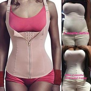 Image 1 - נשים Neoprene Shaperwear מותן Traine לדחוף את אפוד בטן בטן מחוך גוף Shaper מותן Cincher מחוך Faja חגורת הרזיה