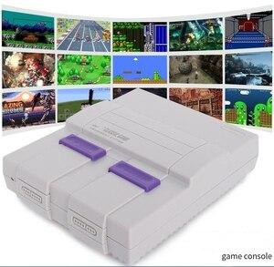 Image 5 - Consoles de jeux vidéo HDMI TV consoles de jeux SNES 8 bits avec 821 consoles de jeux SFC pour jeux SNES double lecteur de manette pal et NTSC