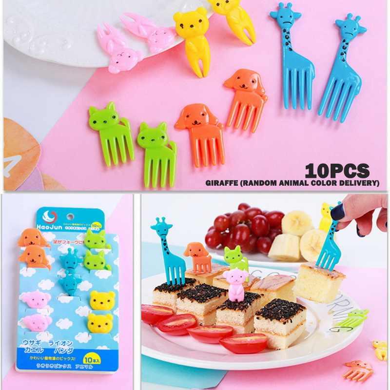 Fruit Toothpick Eye Cartoon Forks Bento Decorative Kids Food Fork Utensils KY