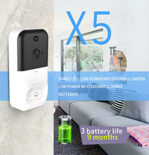 2020 HOT Smart Doorbell Camera Wifi Wireless Call Intercom Video-Eye for Apartment door bell Ring for phone Home Security Camera