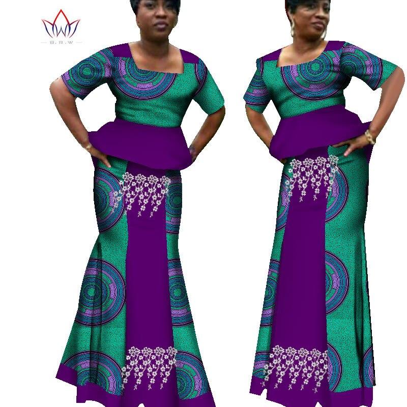 2020 nova africano impressão vestido de verão