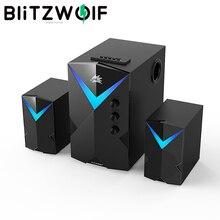 BlitzWolf BW-GT2 altoparlanti per giochi per Computer altoparlanti bluetooth Wireless 20W USB Soundbar da gioco altoparlante per PC potente per PC
