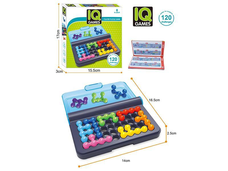 Pyramid-Plate Game Logical Children Puzzle Pearl IQ For Educational 120 Brain-Teaser-Beads