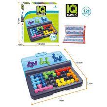 Классические головоломки Пирамида пластины 120 вызовы IQ жемчуг логическая игра ума головоломка бусины для детей развивающие игры игрушки