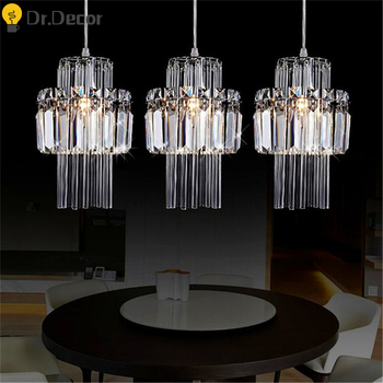 Modern LED Pendant Light Suspension Luminaire Living Room Pendant Lamp Kitchen Hanglamp Industrial Lamp Crystal Light Fixtures фото