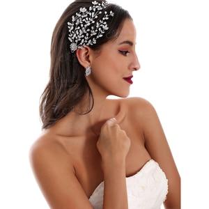 Image 5 - Accesorios para el cabello de alta calidad para novia, accesorios hechos a mano para el cabello, accesorios de boda, diadema, corona de tiara para mujer