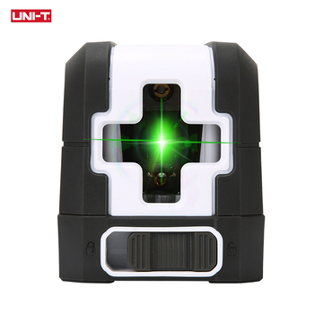 UNI-T Green Beam 3D Laser Level 360 Self Leveling Vertical Horizontal Lasers Cross 2 Lines Lazer Consdtruction Tools