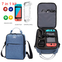 7 In 1 Case for Nintendo Switch Shoulder Carrying Bag Switch Pro Controller Joy con Nintend Switch Game Accessorie Storage Bag