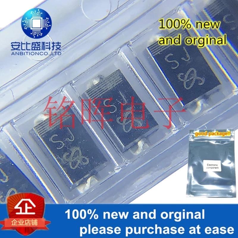50pcs 100% New And Orginal S1J-E3 Silk-screen SJ SMA DO-214AC 1A 600V In Stock