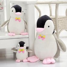 купить Large Penguin Plush Toys Dolls Kawaii Doll Marine Animal Soft Toys Children's Day Baby Birthday Girl Gift Stuffed Animals Pillow по цене 388.18 рублей