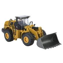 HUINA 1714/1813/1913 1:40/1:50/1:60 Alloy Wheel Loader Model Engineering Construction Car Vehicle Toy Dump Truck Excavator Toy(China)