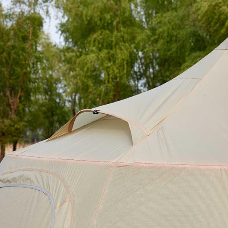 Asta Gear Mountain House duża przestrzeń aktywność zespołowa i ultralekki namiot dla 10 osób namiot kempingowy piramida bez kij do trekkingu